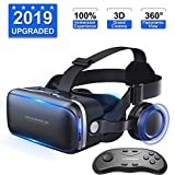 Virtual Reality Headsets VR Headset VR Gaming Headset 3D Glasses with vr Remote