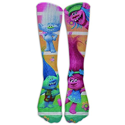 Trolls Beach Towel Girls Poppy Beach Pool Towel 80x130CM Athletic Tube Stockings Sports For Outdoor Women Men Classics Knee High Socks Sport Long Sock One (80's Basketball Players Costume)