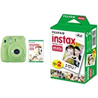 instax Mini 9 Camera with 30 Shots - Lime Green