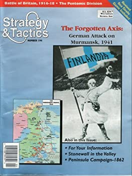 Dg: Strategy & Tactics Magazine #194, With Forgotten Axis, Murmansk 1941, Board Game 0