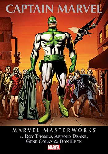 Captain Marvel Masterworks Vol. 1 (Captain Marvel (1968-1979)) by [Thomas, Roy, Drake, Arnold]