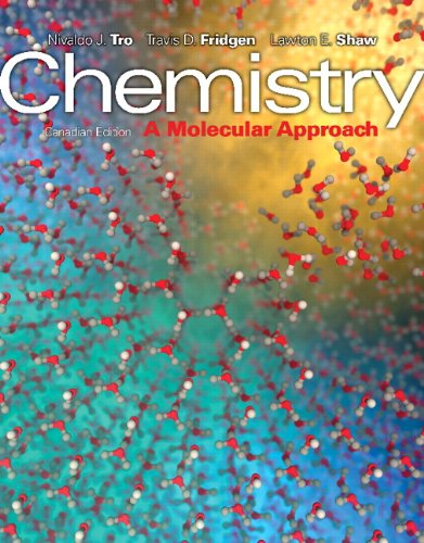 Chemistry: A Molecular Approach, First Canadian Edition