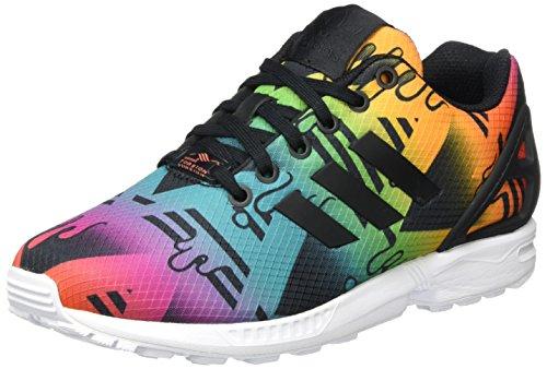Adidas Black Espadrillas Zx For Flux Multicolor Men ZRFrZ