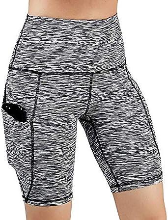 RISTHY Leggins Pantalones Cortos Yoga Correr Deportivos Mujer ...