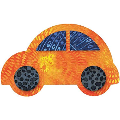 Go! Fabric Cutting Dies-Cute Car 5-1/2x3-3/8
