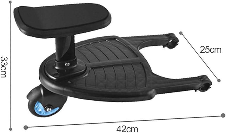 AGKupel Planche pour poussette avec si/ège amovible et montage pour poussette Id/éal pour les petites poussettes