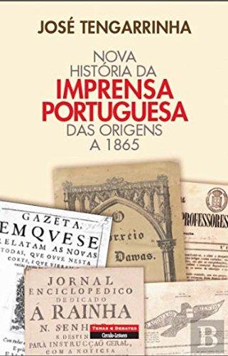Download Nova História da Imprensa Portuguesa Das origens a 1865 (Portuguese Edition) pdf epub