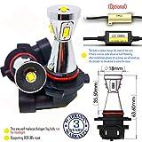 Wiseshine 9006 HB4 8000k led fog light bulb design DC9-30v 3 years quality