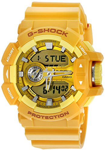 Casio G Shock Case Orange GA400A 9A