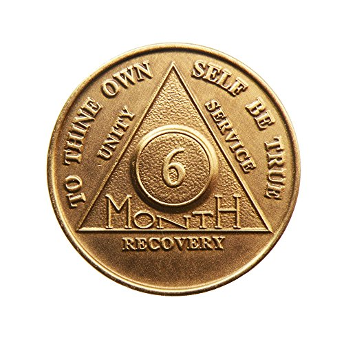 Month Bronze Alcoholics Anniversary Medallion