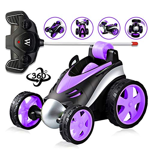 SLHFPX LOFEE RC Car for Boys 3-12 Years Old,RC Car Stunt Car Radio Control Coolest Toy for 3-12 Years Old Boys Gift for 3-12 Years Old Kids Birthday Purple