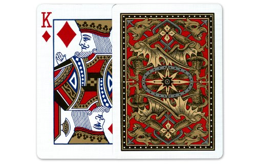 Bicycle Gold Dragon Playing Cards: 12 Decks of Bicycle Poker Size Gold Dragon Back Playing Cards by U.S.P.C.