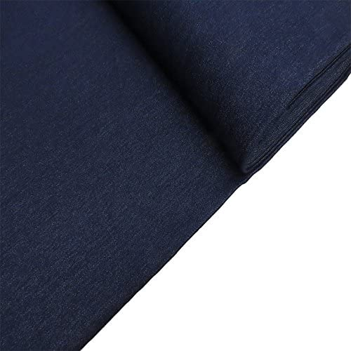 Large Fat Quarter Classic Denim Fabric in Black Denim Fabric Available in Larger Yardage