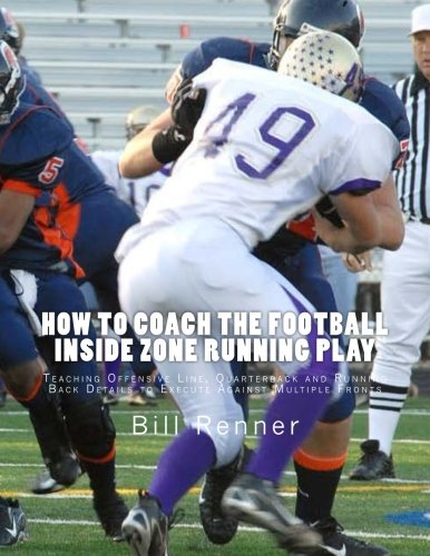 How to Coach the Football Inside Zone Running Play: Teaching Offensive Line, Quarterback and Running Back Details to Execute Against Multiple - Zone Football Offense