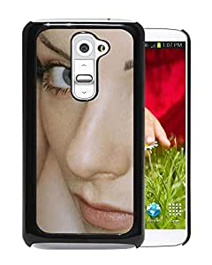 Beautiful Designed Cover Case With Tatu Faces Look Eyes Lips For LG G2 Phone Case