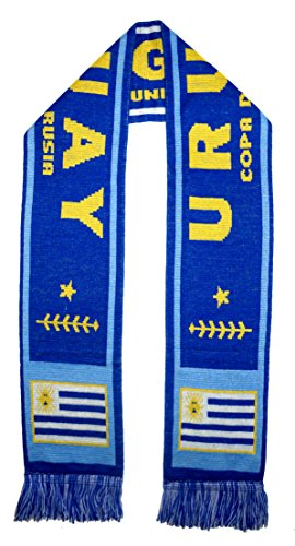 URUGUAY 2018 World Cup Fans Favorite Soccer Scarf (Uruguay World Cup)