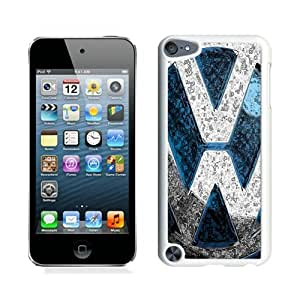 Case For iPod Touch 5,volkswagen Vw logo White iPod Touch 5 Case Cover