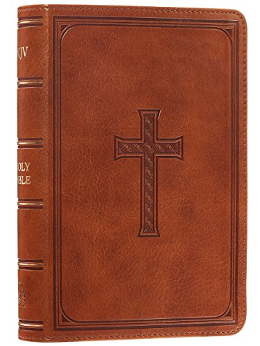 Holy Bible: KJV Large Print Compact Edition: Tan