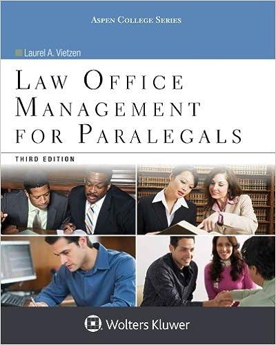 Law office management for paralegals aspen college series law office management for paralegals aspen college series 3rd edition fandeluxe Image collections
