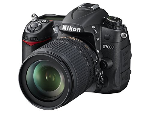 Nikon D7000 Digital SLR Camera with 18-105mm VR Lens Kit (16.2MP) 3 inch LCD (Renewed)