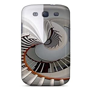 For MichelleNCrawford Galaxy Protective Case, High Quality For Galaxy S3 Staircase Skin Case Cover by supermalls