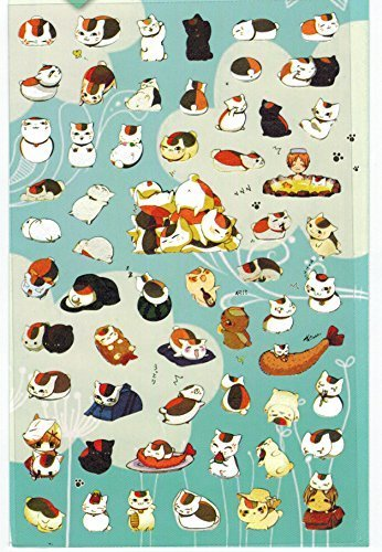 [DECO FAIRY] Kawaii Japanese Cat Style Stickers