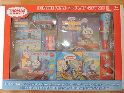 Thomas and Friends Deluxe Read and Play Gift Set - Makes a Great Christmas Gift!