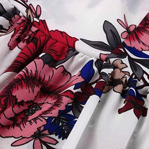 En Moulante Court Mini Combinaisons Uk Pour Taille Plage Blanc Femmes Pièce White Florales 6 Court couleur 8 Casual Zhrui Femmes De Eté S Large Blanc Culotte Vacances Une Peplum Sexy Bande Z8wzp