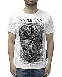 Platinum Cut T-Shirt with Prints & Rhinestones
