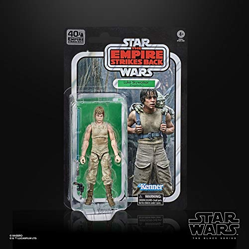 Star Wars The Black Series Luke Skywalker (Dagobah) 6-Inch Scale The Empire Strikes Back 40th Anniversary Collectible Figure