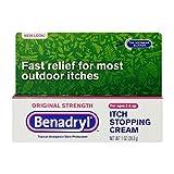 Benadryl Itch Stopping Cream, Original Strength, 1 Ounce (Pack of 6)
