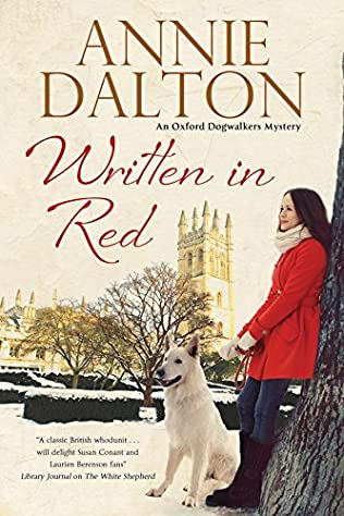 book cover of Written in Red