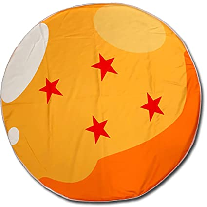 Prime Great Eastern Entertainment Dragon Ball Z 4 Star Dragon Ball Large Round Bath Towel Beach Towel Beach Blanket Gamerscity Chair Design For Home Gamerscityorg