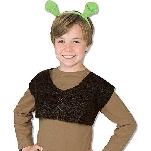 Shrek Kids Costume (Shrek Ears and Vest Costume Accessory Kit)