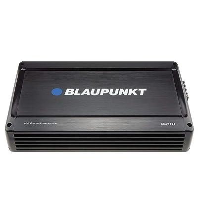 Blaupunkt 1600W 4-Channel, Full-Range Amplifier AMP1604: Car Electronics