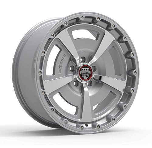 Centerline 631MS MM2 Titanium Silver with Mirror Machined Face Wheel with Machined Finish (20x9/5x115, 15mm Offset)