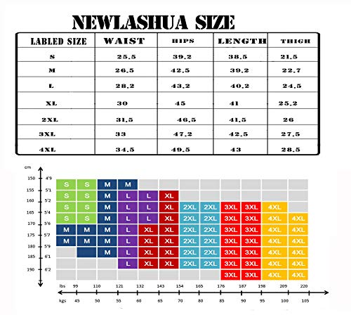 newlashua Women\'s Lightweight Dry Fit Workout Pants Sports Running Pants Jogger XL Grey