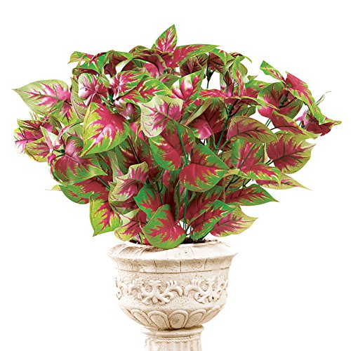Caladium Bushes Flower Picks - Set Of 3