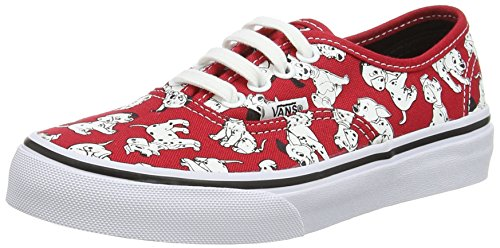 Vans Kids Disney Dalmatians/Red Skate Shoe - 2 M US Little Kid