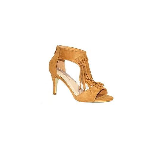 NIKO TACÓN INDIAN 9211 Zapatos de Tacón Alto Fiesta Mujer Elegante Verano Moda 2