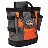 Arsenal 5527 Topped Tool Pouch with Snap-Hinge Closure, One Size, Black