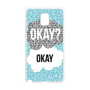 Fresh warm dialogue Cell Phone Case for Samsung Galaxy Note4