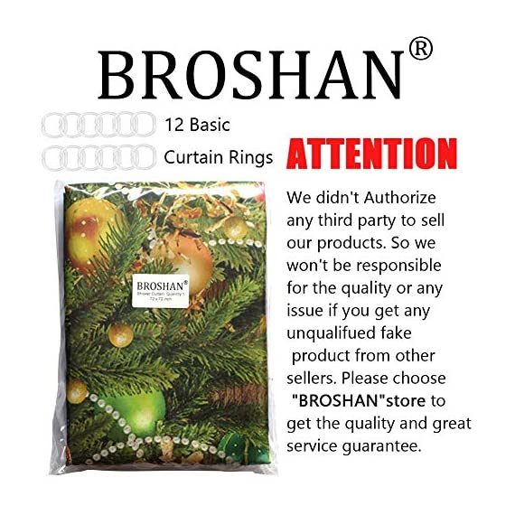 BROSHAN Nautical Shower Curtain Set, Marine Starfishes Life Buoy on Rustic Wood Bath Bathtub Curtain, Starfish Fabric Waterproof Shower Curtains for Seaside Bathroom Set, 72 x 72 inch -  - shower-curtains, bathroom-linens, bathroom - 51c2gE4FzWL. SS570  -