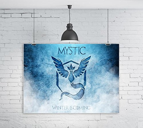 MWcustoms Detailed Fan Art Mystic GoT Art 16x20 Glossy Poster