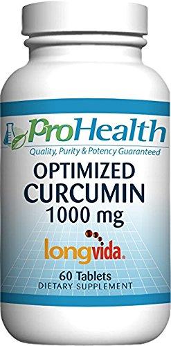 ProHealth Optimized Curcumin Longvida (1000 mg, 60 tablets) by ProHealth