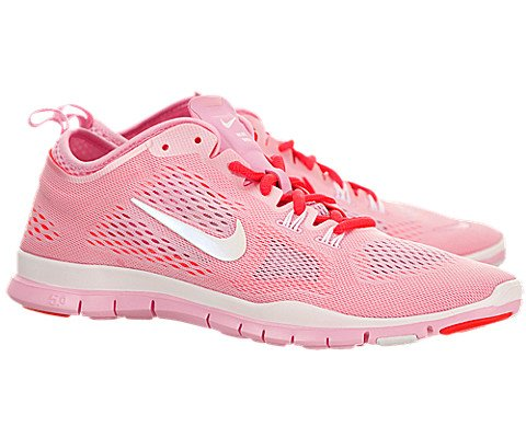 new arrivals 5789d 86e8f Nike Women s Free 5.0 TR Fit 4 Breathe - Perfect Pink   White-Laser Crimson,  7.5 B US - Buy Online in Oman.   Shoes Products in Oman - See Prices, ...