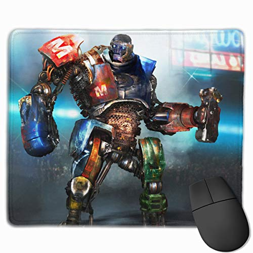 Hunand Real Steel Metro Durable Mouse Mat Custom, Personalized Non-Slip Mousepad