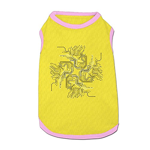 Jmirelife Electric Circuit Art Lovely Pet Dog Puppy Cat Kitten Polo T-Shirt Clothes Coats Outfit Tops