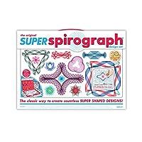 Kit súper espirógrafo de 75 piezas Jumbo (edición 50 aniversario)