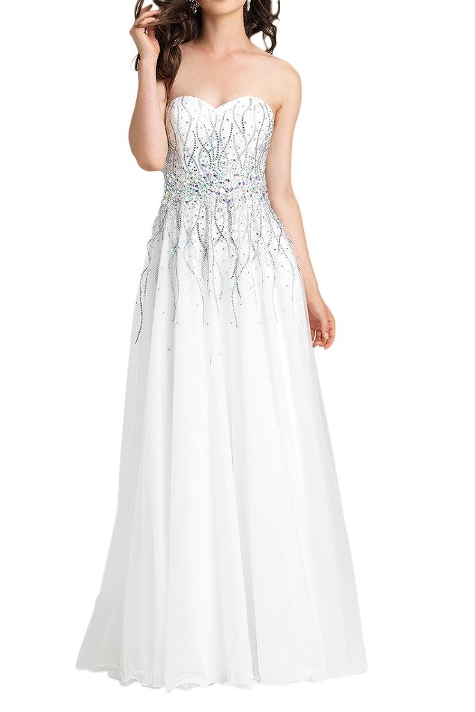 Prom Style Traegerlos Herzform Abendkleider Brautjungfernkleider ...